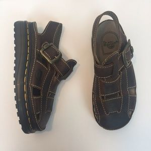 Dr. Martens 7 Womens Fisherman Sandals Leather
